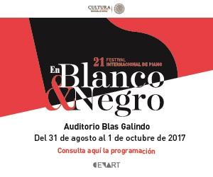 21 FESTIVAL INTERNACIONAL DE PIANO EN BLANCO Y NEGRO